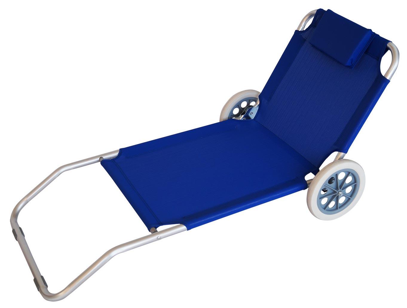 strandwagen fg29 transportwagen strandstuhl strandliege aluminiumgestell 106x64x62cm kaufen. Black Bedroom Furniture Sets. Home Design Ideas