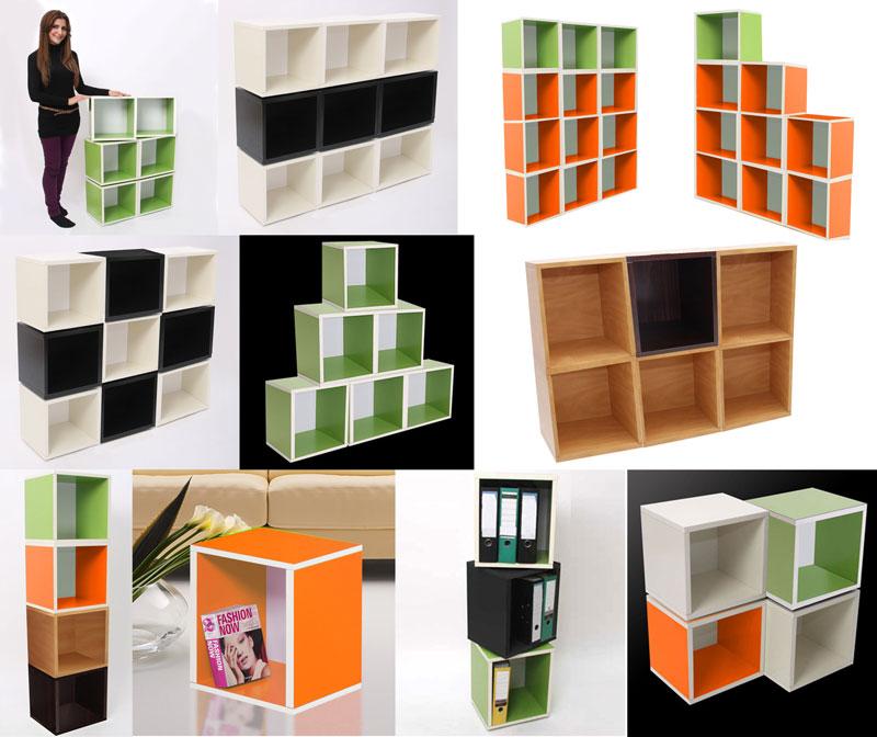 3x modul regal standregal m73 124x187x28 cm wei kaufen bei mendler vertriebs gmbh. Black Bedroom Furniture Sets. Home Design Ideas