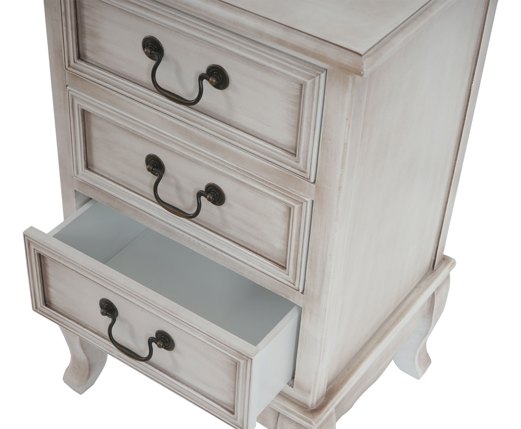 kommode gela t435 schrank barock antik 3 schubladen wei antik kaufen bei mendler. Black Bedroom Furniture Sets. Home Design Ideas
