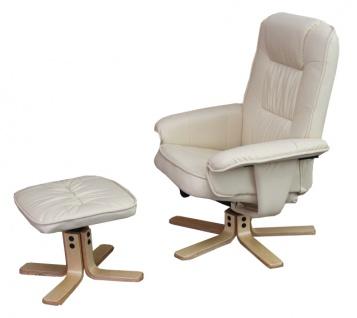 hocker wei leder g nstig online kaufen bei yatego. Black Bedroom Furniture Sets. Home Design Ideas