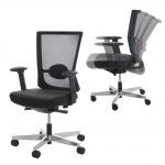 Bürostuhl MERRYFAIR Forte, Schreibtischstuhl Drehstuhl, ergonomisch schwarz