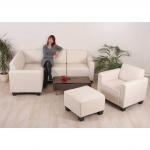 Modular Sofa-System Garnitur Lyon 4-1-1 creme