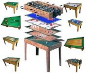 Tischfußball Billiard Hockey 9in1 Multiplayer