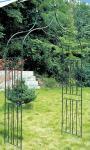 Rosenbogen Rankhilfe 60-er, Metall dunkelgrün