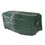 Abdeckhaube Schutzplane Hülle für Gartenbänke, 180x70x89cm