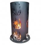 Feuersäule LD27, Feuerstelle Terrassenofen Terassenkamin Gartenkamin