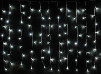 LED Lichterkette LD08, Lichtervorhang, Leuchtkette, für Außen und Innen