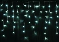 LED Lichterkette LD09, Lichtervorhang Eiszapfen, für Außen und Innen
