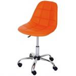 Drehstuhl Lier, Bürostuhl Arbeitshocker, Schalensitz Kunstleder