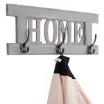 Wandgarderobe Home, Garderobe Garderobenpaneel, Shabby-Look Vintage 55x20cm