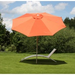 Alu Sonnenschirm Gartenschirm N19 300cm, neigbar, rostfrei