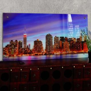 Glasbild T115, Wandbild Poster Motiv, 50x100cm