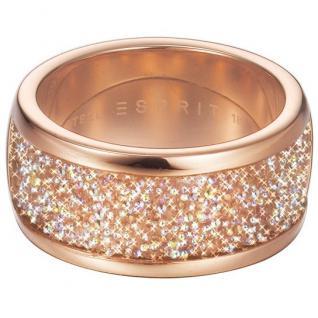Esprit ESRG12247A180 Damen Ring dazzle rose Edelstahl rose 56 (17.8)