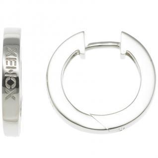 XENOX XS8542 Damen Creolen Modern Classic Silber