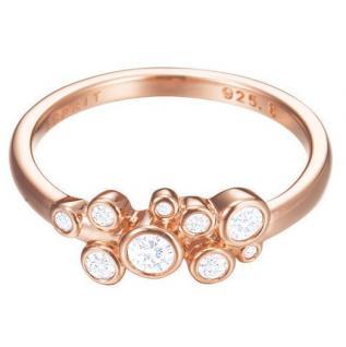 Esprit ESRG92843C Damen Ring esprit-jw50005 Rose Silber weiß 50 (15.9)