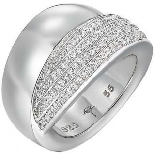 Joop JPRG90596A Damen Ring Silber Modell Zoe mit Zirkonia weiß Größe 55 (17, 5 mm)