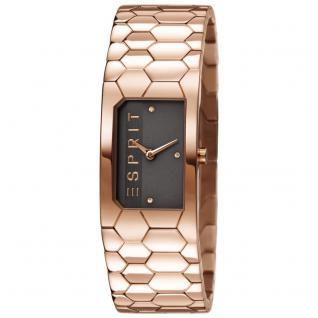 Esprit ES107882003 houston hexa rosegold Uhr Damenuhr Edelstahl rose
