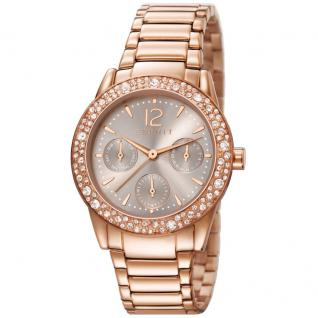 Esprit ES107152002 elsie rosegold Uhr vergoldet Datum rose