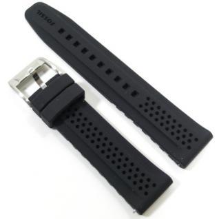 Fossil Uhrband LB-CH2694 Original CH 2694 Kautschuckband 22 mm