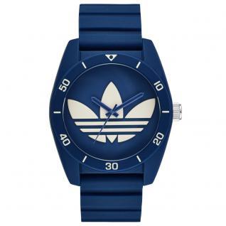 Adidas ADH3138 SANTIAGO Uhr Herrenuhr Kautschuk blau