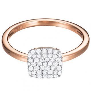 Esprit ESRG92811C Damen Ring esprit-jw50008 Rose Silber weiß 56 (17.8)