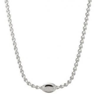 Fossil Halskette JA5712040 Damen Collier Schlüsselloch Metall 71 cm