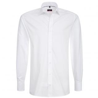 Eterna Herrenhemd Hemd Langarm Modern Fit Weiß Gr. XL/43 4678/00/X177