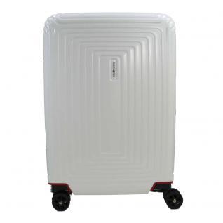 Samsonite Neopulse Spinner matt Weiß 75 cm Trolley Koffer 94 L