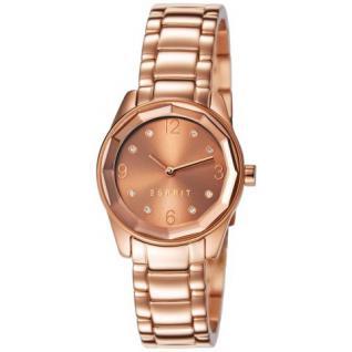 Esprit ES106552006 crystal cut rosegold Uhr Damenuhr vergoldet rose