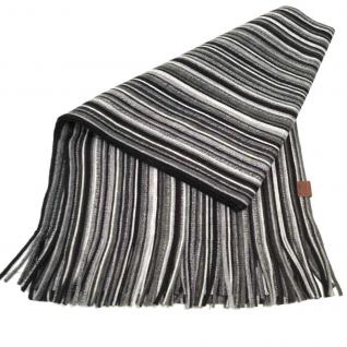 Esprit Schal RASHEL Scarf Grau-Schwarz 094EA2Q011-E001 Strick 162 cm