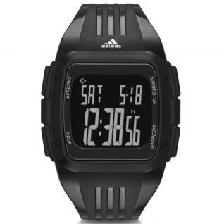 Adidas DURAMO Uhr Herrenuhr Kunststoff Digital schwarz