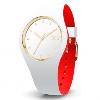 Ice-Watch 007229 Ice loulou white gold small Uhr Damenuhr weiß
