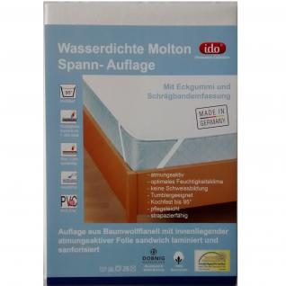 Dobnig Molton Matratzenschoner Wasserdicht Matratzenschutz 140x200 cm