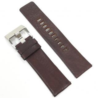 Diesel Uhrband LB-DZ1337 Original DZ 1337 Lederband 25 mm