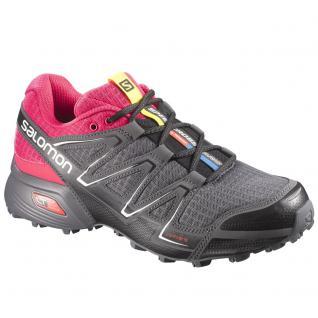 Salomon Damen Schuhe Speedcross Vario W Sportschuhe Grau Gr 36 2/3