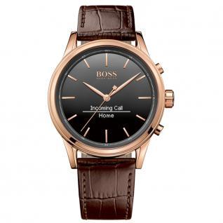 Hugo Boss 1513451 Smart Classic Uhr Herrenuhr Smartwatch Datum braun