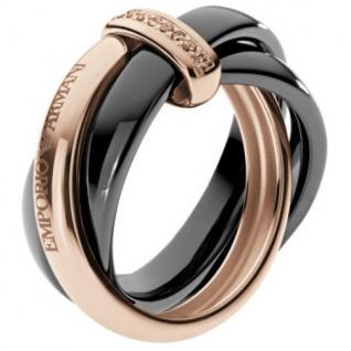 Emporio Armani EG3081 Damen Ring Silber rosé 53 (16.9)