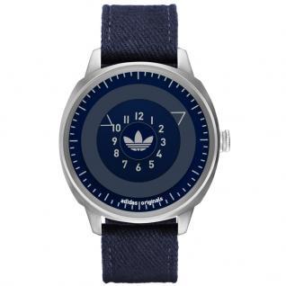 Adidas ADH3131 SAN FRANSICO Uhr Herrenuhr Lederarmband blau