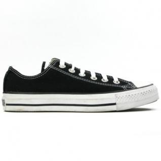 Converse Herren Schuhe All Star Ox Schwarz M9166 Chucks Sneakers Gr/46
