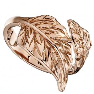 Julie Julsen JJRG10389.2 Damen Ring Blatt Sterling-Silber 925 Rose