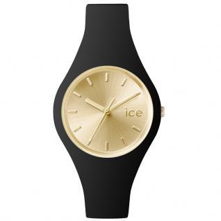 Ice-Watch ICE.CC.BGD.S.S.15 ICE CHIC Black Gold Uhr Damenuhr schwarz