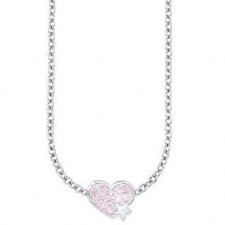 Prinzessin Lillifee PLFS/71 Mädchen Collier Herz Silber rosa 37 cm