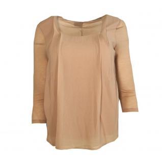 Vero Moda Damen Bluse Shirt 3/4 Arm HANNA 3/4 Top Rosa Gr. L