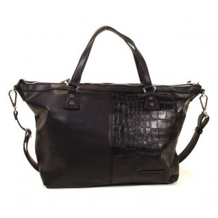 Esprit LAURA City Bag Schwarz 124EA1O010-E001 Handtasche Tasche