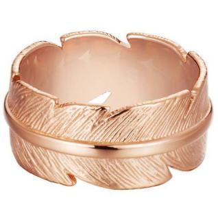 Esprit ESRG11569B Damen Ring Feder feather rose Stahl rose 50 (15.9)