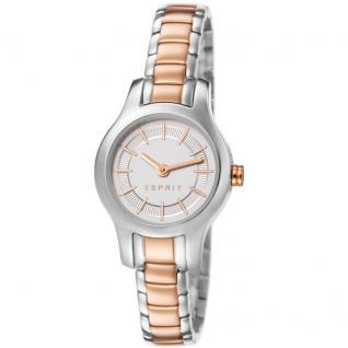 Esprit ES107082003 tia two tone rosegold Uhr Damenuhr Edelstahl silber