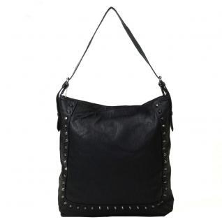 Pieces RENE Bag Schwarz 17067266 Handtasche Tasche Henkeltasche