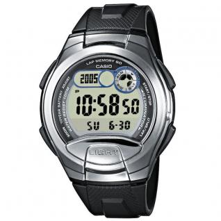 CASIO W-752-1AVES SPORTS Uhr Herrenuhr Silikon Datum Digital schwarz
