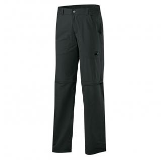 Mammut Herren Outdoor Wander Hose Hiking Zip Off Pants Men Schwarz 50