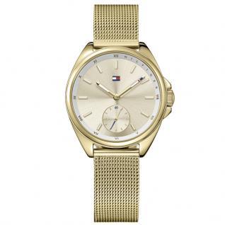 Tommy Hilfiger 1781757 Ava Uhr Damenuhr Edelstahl Gold